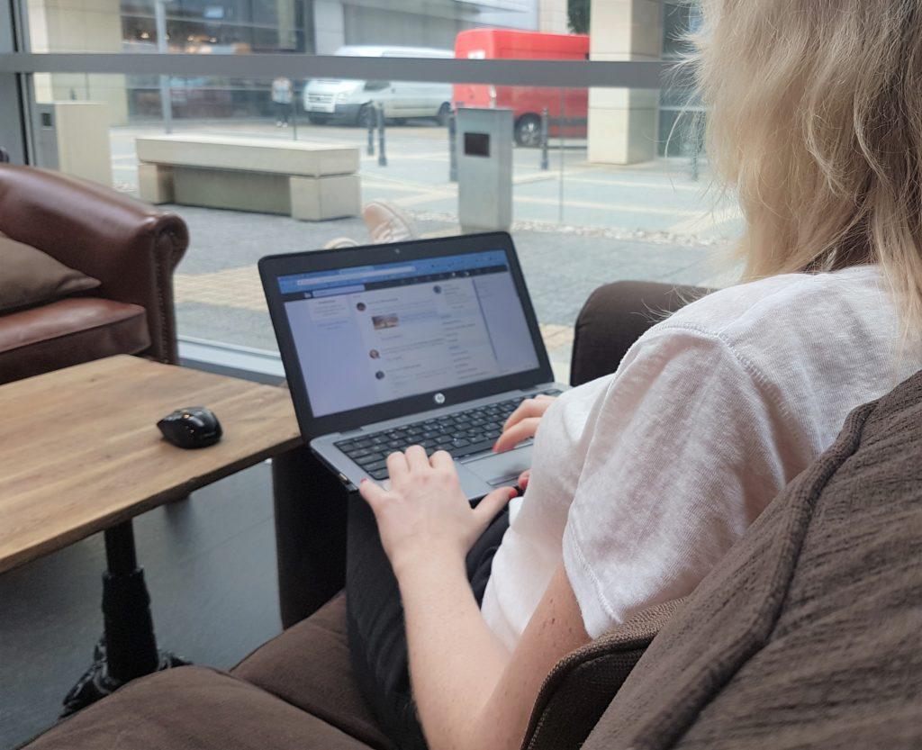 Doris in Social Media LinkedIn
